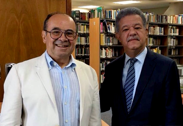 Hiram Gaviria se Reúne con Leonel Fernández