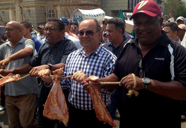 Protesta en Ciudad de Coro Puente