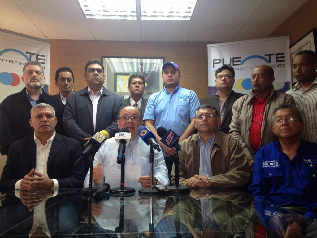 Puente presenta sus candidatos a las elecciones regiona